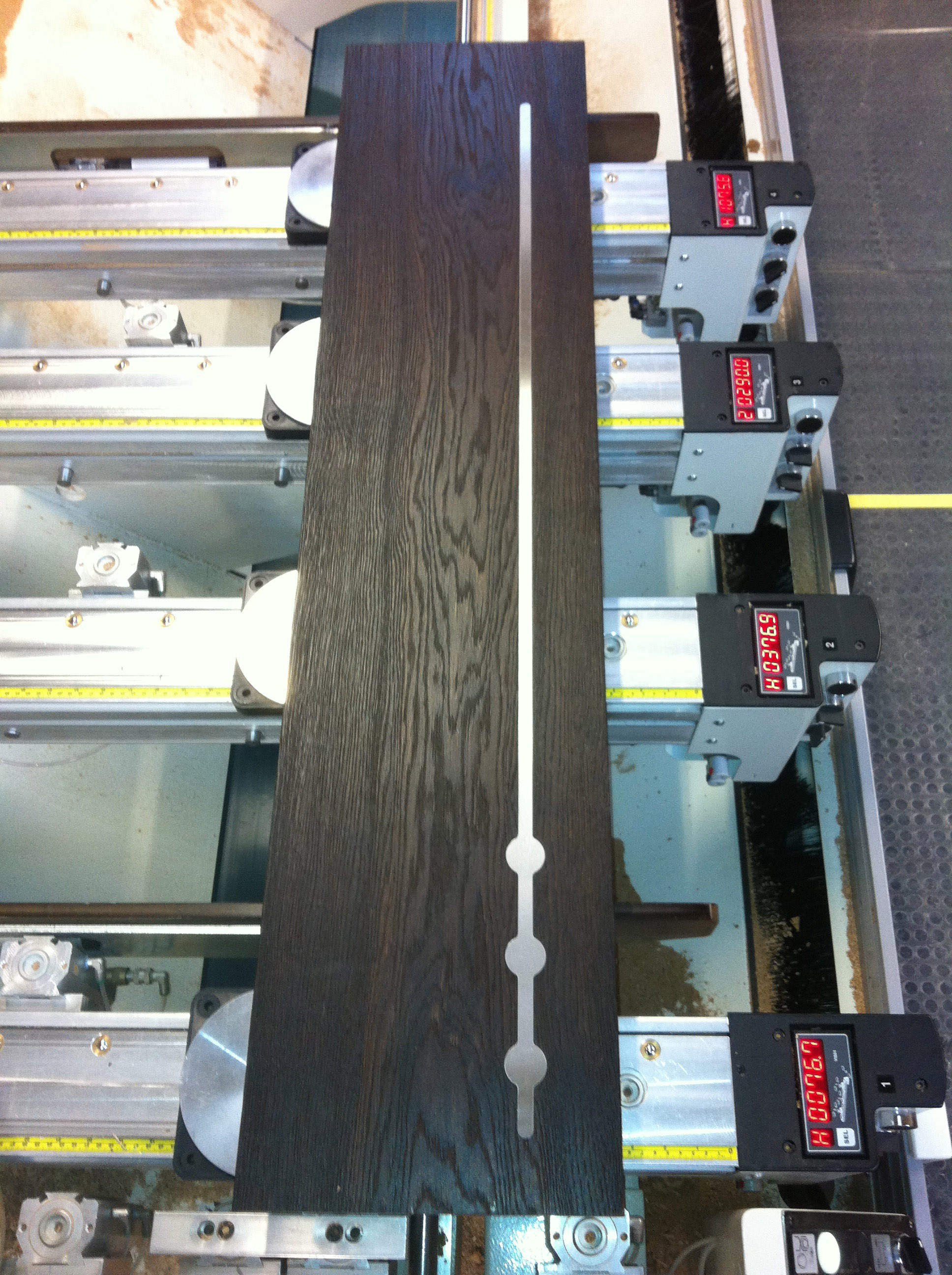 Cavendish Joinery Press Releases Metal Inlay Oak Stair
